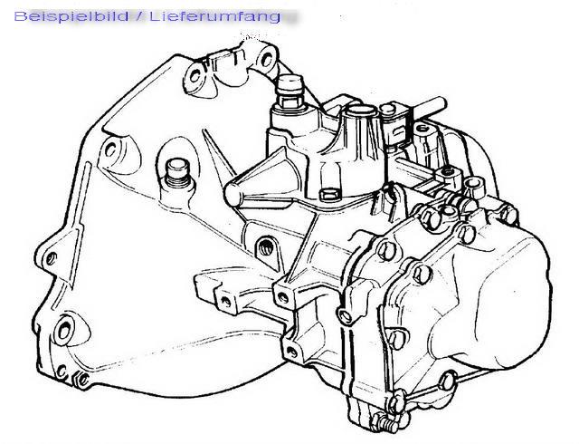 Getriebe (Automatik) aus Chrysler Pt Cruiser Cabriolet, Pt