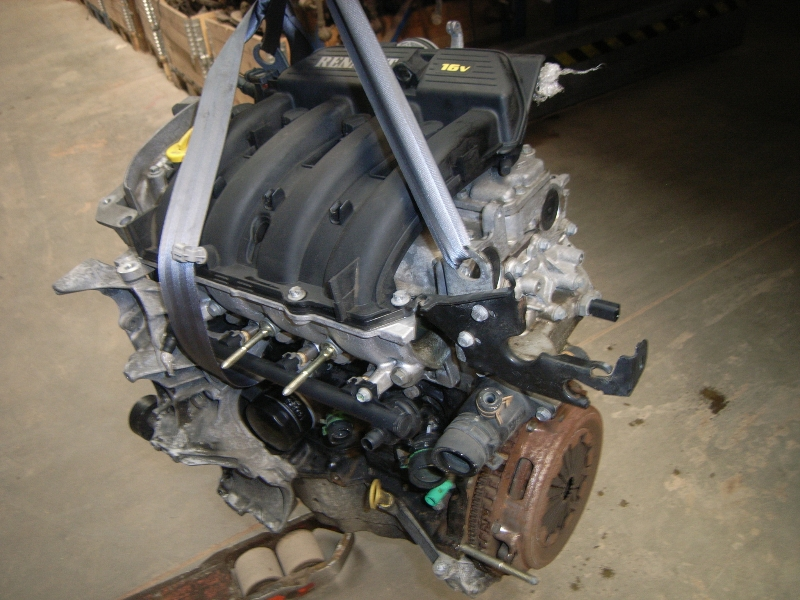 Motor ohne Anbauteile (Benzin) aus Renault MEGANE I (BA0/1_)